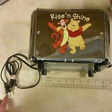Winnie the Pooh & Friends Rise N Shine Toaster Villaware Tigger Pigglet on Bread
