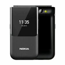 "NOKIA 2720 TA-1170 FLIP BLACK 2.8"" FACTORY UNLOCKED BRAND NEW"
