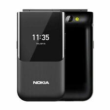 "Nokia 2720 Ta-1170 Flip Black 2.8"" Factory Unlocked Brand New"