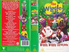 WIGGLY WIGGLY CHRISTMAS  VHS VIDEO PAL~ A RARE FIND