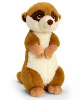 Keel Toys KEELECO MEERKAT 30cm Soft Toy 100% RECYCLED Eco Plush
