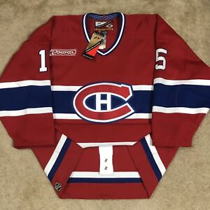 (READ) Pro Player Authentic Dainius Zubrus Montreal Canadiens NHL Jersey Red 52