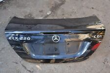 Mercedes CLK Boot Lid in Black Bootlid W209 Coupe 2005