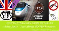 Train Simulator: Amtrak Acela Express EMU Add-On DLC Steam key Region Free