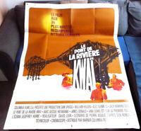 Le pont de la rivière KWAÏ - David LEAN - Affiche Cinéma (120x160 cm)