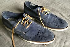 Sperry Top Siders Blue Suede Men's Shoes Size 11