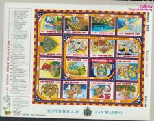 San Marino 2120-2135 ZD-Arc (compleet Kwestie) postfris MNH 2003 Kerst (9350580
