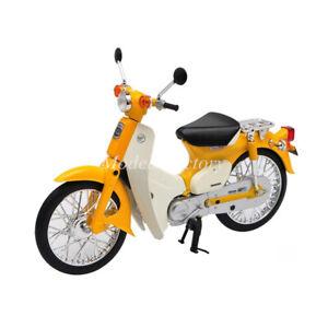 1/12 LCD AOSHIMA Honda Super Cub Diecast Model Motorcycle Bike Kids Toys Gifts