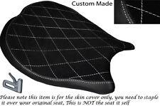 Diamante Blanco De Stitch diseño personalizado se adapta a Ducati 1198 848 1098 delantera cubierta de asiento