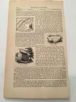 K29) Battle Of Fort Mercer New Jersey 1777 American Revolution 1860 Engraving