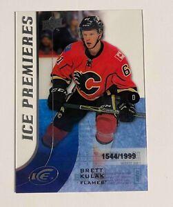 Brett Kulak 2015-16 Upper Deck ICE Premieres Rookie *Montreal Canadiens*