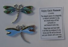 zzB Love Enjoy Each Moment Dragonfly Pocket token charm Ganz enjoy treasure day