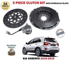 FOR KIA SORENTO 2.2 CRDi 2010->NEW CLUTCH KIT PLATE COVER + CONCENTRIC SLAVE