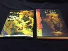 Neil Gaiman & Dave McKean Hardcover Lot - Cages, Signal To Noise