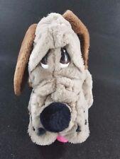"""Plush Parade Hound Dog Puppy Stuffed Animal American Kennel Club Collar 13.5"""""""