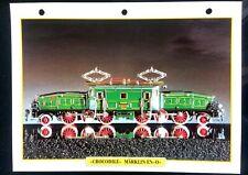 "Fiche Trains Jouets & Modélisme Ferroviaire; ""Crocodile"" Märklin en ""O"""