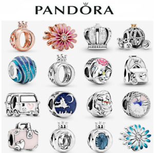 Genuine Daisy Crown ALE S925 Sterling Silver Authentic Pandora Charm