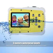 "2""HD 720P 12MP LCD Mini Digital Waterproof Sports Camera Kids Birthday Gift Xmas"