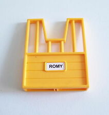 "PLAYMOBIL (T2179) CENTRE EQUESTRE - Mur avec Grille Orange Box ""Romy"" 4190"