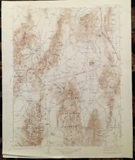 USGS Topographic Map 1929 ROBERTS MOUNTAINS QUADRANGLE, NEVADA