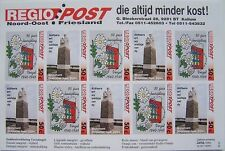 Stadspost Kollum Regio Post 1995 - Velletje Verzet/Bevrijdingszegels ongetand