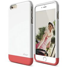 iPhone 6 Plus Case, elago -White / Italian Rose Pink -