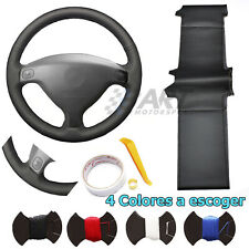 Funda de volante a medida para Opel Astra G H 98-07 Zafira A 99-05 cuero negro