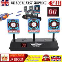 Electric Scoring Auto Reset Shooting Digital Target for Soft  Gun Kids Toy