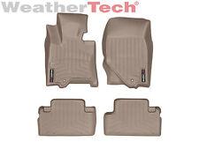WeatherTech Floor Mats FloorLiner for Infiniti EX35/QX50 - 2008-2013 - Tan