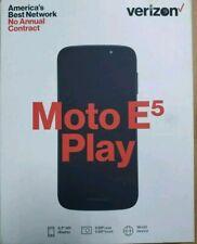 Verizon Motorola E5 Play 5.2 Hd Display 16Gb Brand New