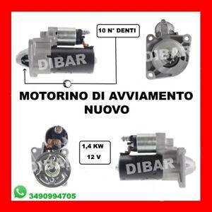 MOTORINO DI AVVIAMENTO NUOVO LANCIA DELTA III 1.9-2.0 D MULTIJET DAL 2009 10