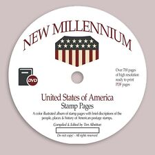 New Millennium U.S. Stamp Pages (Printable PDF Stamp Album)
