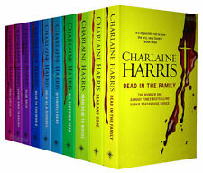 True Blood Charlaine Harris Sookie Fantasy Series 10 Book Paperback English
