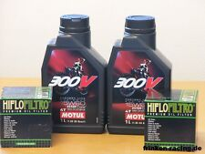 Motul 300V Off Road 15W60 / Ölfilter KTM 690 Duke / Enduro R / SMC R Bj 12 - 17