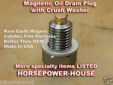 12mm US-MADE MAGNETIC OIL DRAIN PLUG Kawasaki 86-2017 Ninja ZX10R ZX-10R ZX1000