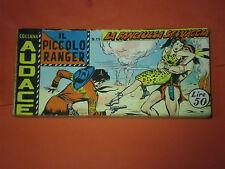 PICCOLO RANGER 3°SERIE III°-N°19 DEL 1960-STRISCIA -COLLANA AUDACE-araldo raro
