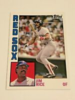 2012 Topps Archives Baseball Base Card #184 - Jim Rice - Boston Red Sox
