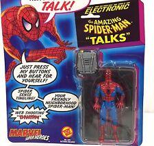 Vintage 1991 Marvel Comics ~ SPIDER-MAN ~Super Heroes Figure ToyBiz ~ Talks ~MOC
