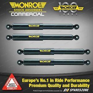 Monroe F + R Reflex Shocks for Mercedes Benz Clk C208 A208 C209 A209 Coupe 97-02