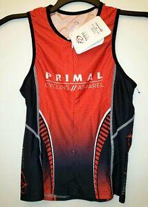 Primal Men's Triathlon. Primal Cycling Apparel Jersey. Size S.