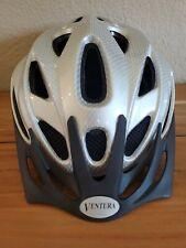 Ventura White Carbon Sport Bike Helmet with visor & dial adjustment Sz Med. New