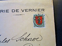 Switzerland 1924 Pro Juventute Official Canton Geneve Cover - Z5128