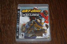 Ski Doo Snowmobile Challenge PlayStation 3 PS3 CIB COMPLETE