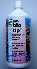hw bio tip 1000ml MHD 4/19 Bioelemente für Meerwasser Aquarien biotip  10,00€/L