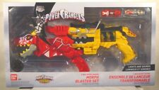 Power Rangers Dino Morpher Legacy T-Rex Super Charge Morph Blaster Set Sound MIB