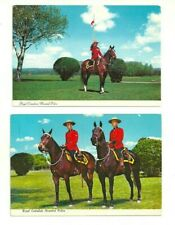 LOT OF 3 RCMP ROYAL CANADIAN MOUNTED POLICE - R.C.M.P. CANADA CHROME POSTCARDS
