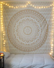 Indian Cotton Mandala Bedding Bed Cover Hippie Bedspread Wall Hangng Throw