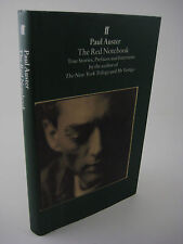 THE RED NOTEBOOK Paul Auster PREFACES INTERVIEWS TRUE STORIES UK 1st/2nd Print