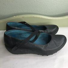 Tsubo Shoes Maryjanes Women Size 6 Black Leather Upper