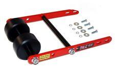 Twin Roller Wheelie RED Bar Raptor 660 KFX/LTZ 400 LTR 450 Quad ATV Tag Z